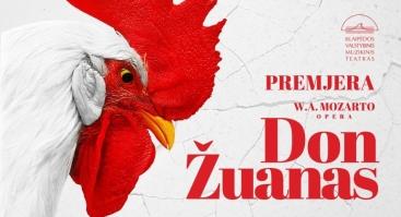 """W. A. Mozarto opera """"Don Žuanas"""""""