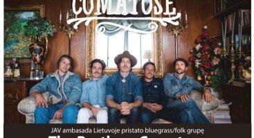 Amerikietiško bluegrass siautulys Vilniuje – The Brothers Comatose