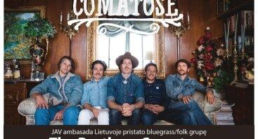 Amerikietiško bluegrass siautulys Klaipėdoje – The Brothers Comatose