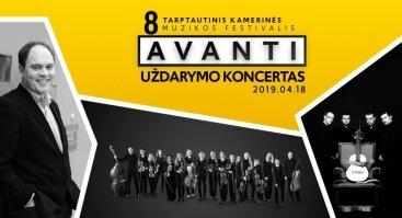 8-ojo tarptautinio kamerinės muzikos festivalio AVANTI uždarymo koncertas