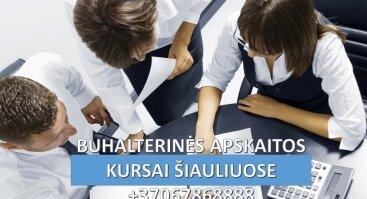 BUHALTERINIAI APSKAITOS KURSAI ŠIAULIUOSE - PROFESINĖ BUHALTERIO APSKAITININKO KOMPETENCIJA