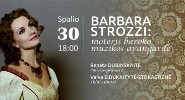 Barbara Strozzi: moteris baroko muzikos avangarde