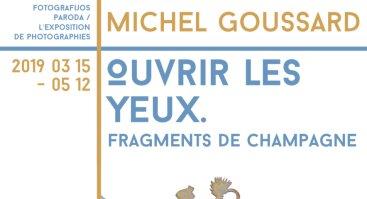 """Michel'io Goussard'o paroda """"Plačiai atmerktomis akimis. Šampanės fragmentai"""""""