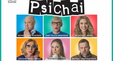 """DOMINO teatro spektaklis """"Psichai"""""""