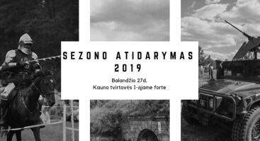 Kauno Tvirtovės sezono atidarymas 2019 - Marso Diena
