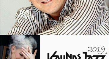 """Kaunas Jazz 2019: JEFF LORBER FUSION (JAV) IR DAIVA STARINSKAITĖ """"ALCHEMY OF 11"""" (Lietuva)"""