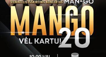 """Išskirtinis grupės """"Mango"""" jubiliejinis koncertas Šiauliuose"""