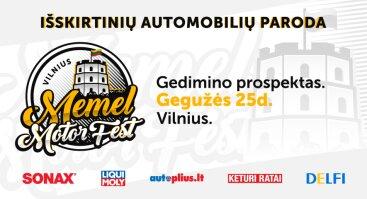 Vilnius. Memel Motor Fest