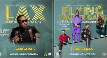 AfroBurn Party with Flying Saucer Gang & LAX