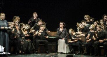 """Išparduota! """"Rusiškas romanas"""" (16+) / Lietuvos rusų dramos teatras /  III tarptautinis teatro festivalis """"TheATRIUM"""""""