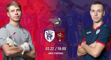 Pirmos lygos startas: Stumbras B - FC Vilniaus Vytis