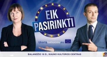 Eik Pasirinkti! Intelektualus TV žaidimas – debatai. Kaunas