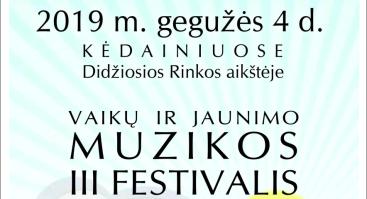 III respublikinis vaikų ir jaunimo muzikos festivalis SKAMBANTYS PERLIUKAI 2019