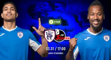 A lyga 4 turas: FC Stumbras - FK Sūduva (Įėjimas nemokamas)