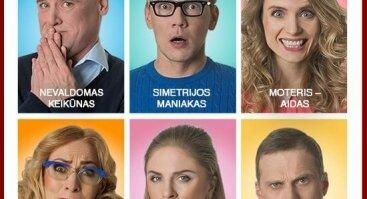 "Domino teatro komedija ""Psichai"""
