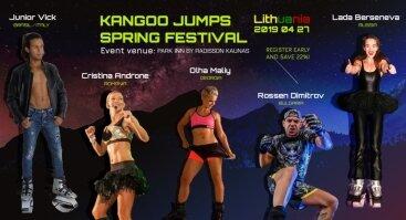 Kangoo Jumps Pavasario Festivalis