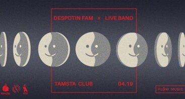 Despotin Fam x Live Band
