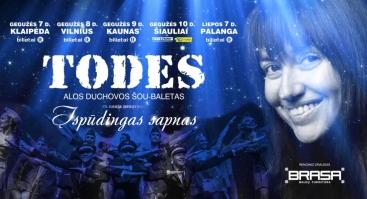 Alos Duchovos šou-baletas TODES su nauja programa Įspūdingas sapnas