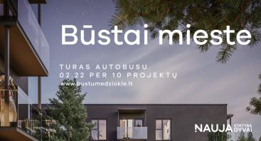 BŪSTŲ MEDŽIOKLĖ // būstai mieste