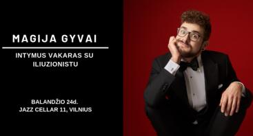 Magija Gyvai - Intymus Vakaras Su Iliuzionistu Algimantu Frankonius