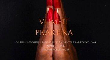Vumfit - intymusis moters pasaulis. Praktika.