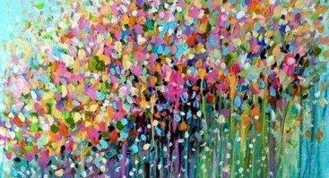 """Intuityvios tapybos popietė """"Spontaniškas paveikslas"""""""
