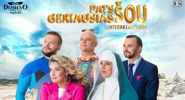 DOMINO teatras | interaktyvus šou PATS GERIAUSIAS ŠOU