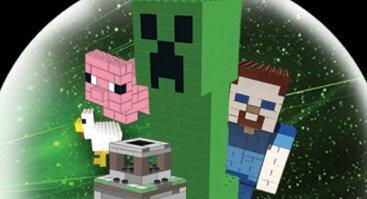 "Lego vasaros stovykla ""Minecraft"" su Bricks4kidz"