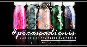 #PICASSADIENIS nagų dizaino seminaras