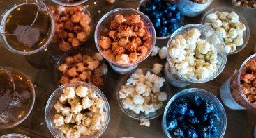Popcorn Lab spragėsių degustacija su someljė V. Čičeliu