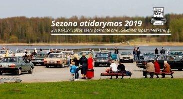 """Šiaulių """"Senų ratų"""" klubo sezono atidarymas 2019"""