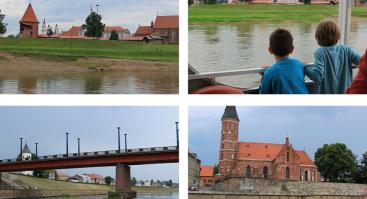 Apžvalginis vakarinis pasiplaukiojimas laivu Kaunas Nemuno upe