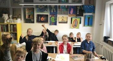 """Vasaros stovykla 7-14m. vaikams """"Jaunasis dailininkas"""""""