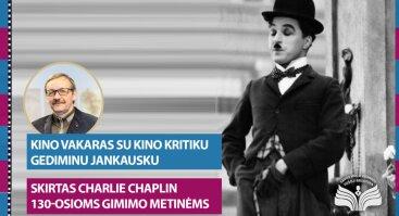 Charlie Chaplinui skirtas vakaras