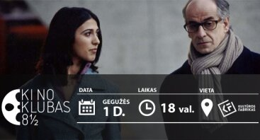 """Paolo Sorrentino """"Meilės pasekmės"""" (2004, Italija, 100 min)"""