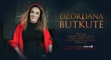 Džordanos Butkutės koncertas Vilniuje