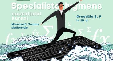 MS EXCEL SPECIALISTO LYGMENS KURSAI (nuotoliniai - MS TEAMS)