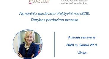 Asmeninio pardavimo efektyvinimas (B2B), derybos pardavimo procese