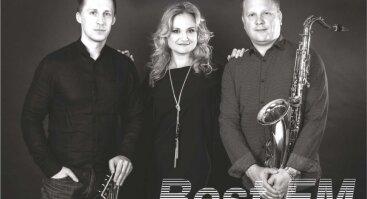 Groja grupė BEST FM. Solistė Aurelija Čižauskaitė