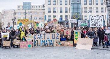 Demonstracija Kartu už klimatą - Fridays For Future!