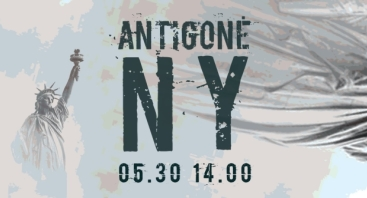 """Spektaklis """"Antigonė Niujorke"""""""