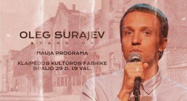 Oleg Surajev - Nauja programa @ KLAIPĖDA