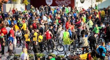 Daugiausia dviračių ant stogo gegužės 23 d.