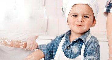 Picų gaminimo pamokėlė vaikams!