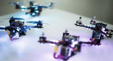 Tarptautinės lenktyninių dronų varžybos DR-4.0