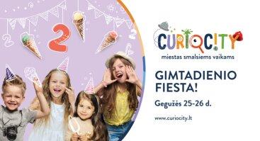 """""""CurioCity"""" 2-ojo GIMTADIENIO FIESTA!"""