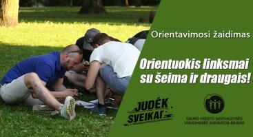 Nemokamas orientavimosi žaidimas Kaune