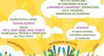 """Šventė ,,DĖMESIO – AŠ ESU"""", skirta Tarptautinei vaikų gynimo dienai"""