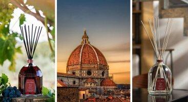 Vakaras Italijoje: kvapų ir maisto sintezė