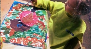 Dailės būrelis nuo 3-6 m. vaikams Šilainiuose